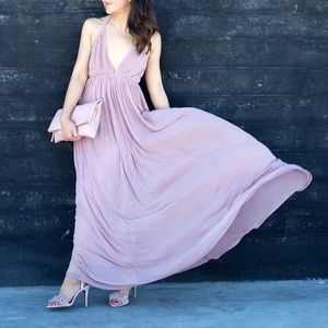 Dresses & Skirts - Blush pink maxi dress